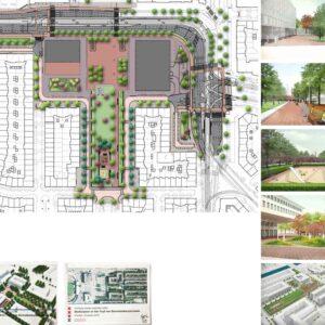 Mirjam Lie Stadionplein Amsterdam ontwerp en uitvoering