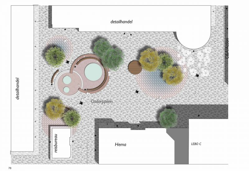 Centrum Nieuw West Osdorpplein ontwerp leiding