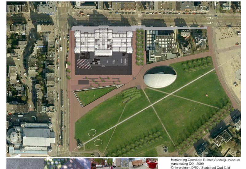 Stedelijk Museum ontwerp o.r. vo do uitvoering