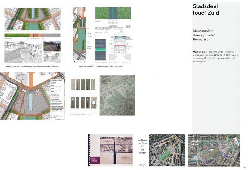 Museumplein Amsterdam ontwerp uitvoering