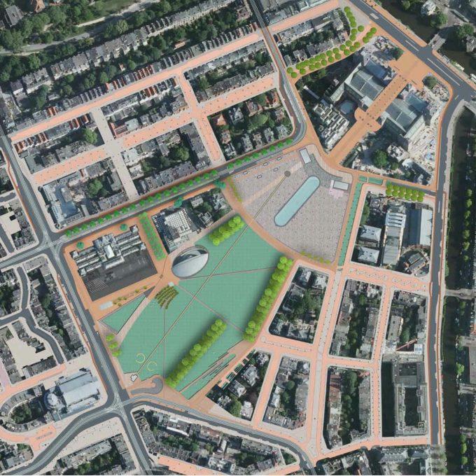 Mirjam Lie Museumplein Amsterdam ontwerp en uitvoering