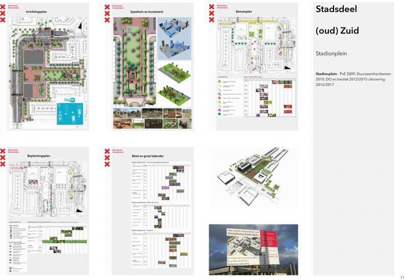Stadionplein Amsterdam ontwerp pve so vo do